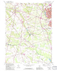Download a high-resolution, GPS-compatible USGS topo map for Pitman West, NJ (1994 edition)