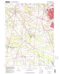 Download a high-resolution, GPS-compatible USGS topo map for Pitman West, NJ (1999 edition)