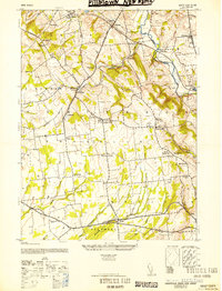 Download a high-resolution, GPS-compatible USGS topo map for Pittstown, NJ (1952 edition)