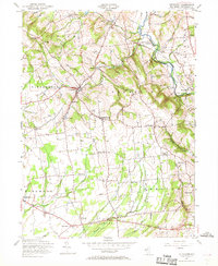 Download a high-resolution, GPS-compatible USGS topo map for Pittstown, NJ (1969 edition)