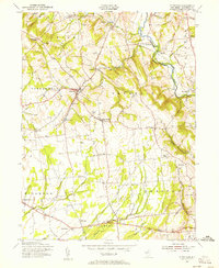 Download a high-resolution, GPS-compatible USGS topo map for Pittstown, NJ (1956 edition)