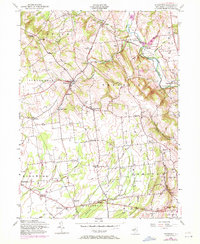 Download a high-resolution, GPS-compatible USGS topo map for Pittstown, NJ (1972 edition)