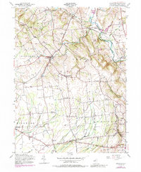Download a high-resolution, GPS-compatible USGS topo map for Pittstown, NJ (1988 edition)