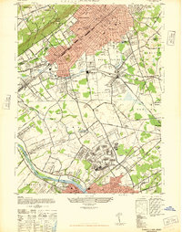 Download a high-resolution, GPS-compatible USGS topo map for Plainfield, NJ (1947 edition)