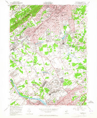 Download a high-resolution, GPS-compatible USGS topo map for Plainfield, NJ (1965 edition)