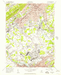 Download a high-resolution, GPS-compatible USGS topo map for Plainfield, NJ (1957 edition)