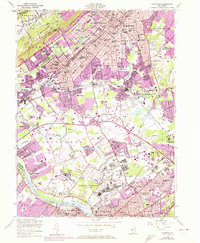 Download a high-resolution, GPS-compatible USGS topo map for Plainfield, NJ (1972 edition)