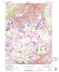 Download a high-resolution, GPS-compatible USGS topo map for Plainfield, NJ (1982 edition)