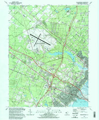 Download a high-resolution, GPS-compatible USGS topo map for Pleasantville, NJ (1998 edition)