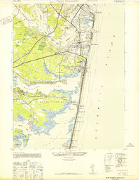 Download a high-resolution, GPS-compatible USGS topo map for Point Pleasant, NJ (1947 edition)