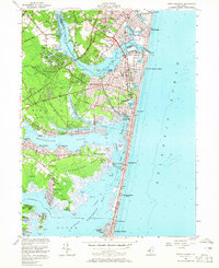 Download a high-resolution, GPS-compatible USGS topo map for Point Pleasant, NJ (1965 edition)