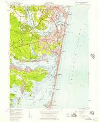 Download a high-resolution, GPS-compatible USGS topo map for Point Pleasant, NJ (1957 edition)