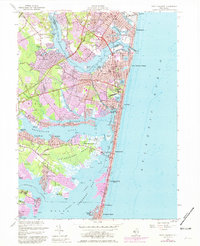 Download a high-resolution, GPS-compatible USGS topo map for Point Pleasant, NJ (1981 edition)