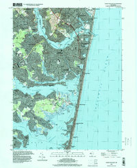 Download a high-resolution, GPS-compatible USGS topo map for Point Pleasant, NJ (2000 edition)