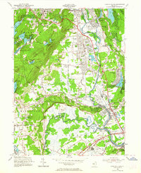 Download a high-resolution, GPS-compatible USGS topo map for Pompton Plains, NJ (1964 edition)