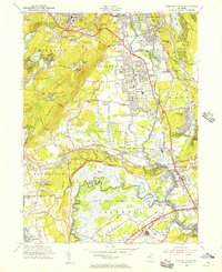 Download a high-resolution, GPS-compatible USGS topo map for Pompton Plains, NJ (1956 edition)