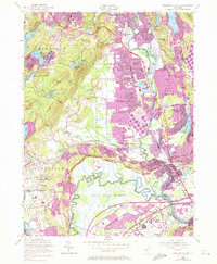 Download a high-resolution, GPS-compatible USGS topo map for Pompton Plains, NJ (1972 edition)