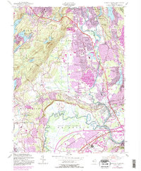 Download a high-resolution, GPS-compatible USGS topo map for Pompton Plains, NJ (1984 edition)