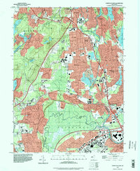Download a high-resolution, GPS-compatible USGS topo map for Pompton Plains, NJ (1998 edition)