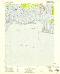 Download a high-resolution, GPS-compatible USGS topo map for Port Norris, NJ (1958 edition)