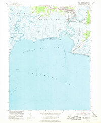Download a high-resolution, GPS-compatible USGS topo map for Port Norris, NJ (1968 edition)