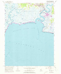 Download a high-resolution, GPS-compatible USGS topo map for Port Norris, NJ (1973 edition)