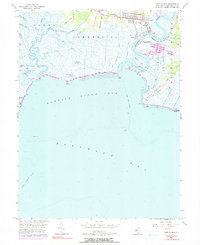 Download a high-resolution, GPS-compatible USGS topo map for Port Norris, NJ (1991 edition)