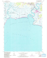 Download a high-resolution, GPS-compatible USGS topo map for Port Norris, NJ (1993 edition)