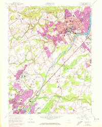 Download a high-resolution, GPS-compatible USGS topo map for Princeton, NJ (1972 edition)