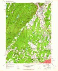 Download a high-resolution, GPS-compatible USGS topo map for Ramsey, NJ (1961 edition)
