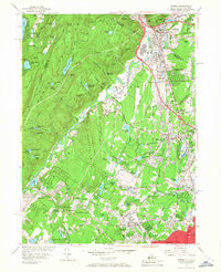 Download a high-resolution, GPS-compatible USGS topo map for Ramsey, NJ (1968 edition)