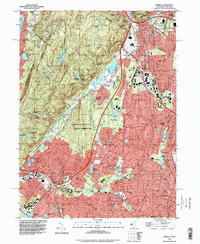 Download a high-resolution, GPS-compatible USGS topo map for Ramsey, NJ (1998 edition)
