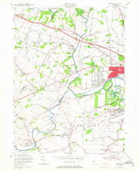 Download a high-resolution, GPS-compatible USGS topo map for Raritan, NJ (1965 edition)