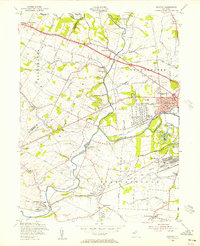 Download a high-resolution, GPS-compatible USGS topo map for Raritan, NJ (1956 edition)