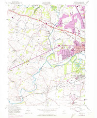 Download a high-resolution, GPS-compatible USGS topo map for Raritan, NJ (1972 edition)
