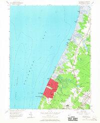 Download a high-resolution, GPS-compatible USGS topo map for Rio Grande, NJ (1967 edition)