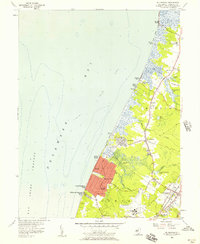 Download a high-resolution, GPS-compatible USGS topo map for Rio Grande, NJ (1957 edition)
