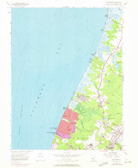 Download a high-resolution, GPS-compatible USGS topo map for Rio Grande, NJ (1972 edition)
