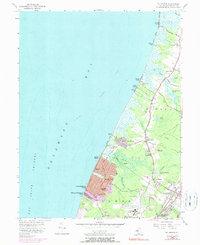 Download a high-resolution, GPS-compatible USGS topo map for Rio Grande, NJ (1990 edition)