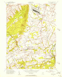 Download a high-resolution, GPS-compatible USGS topo map for Rocky Hill, NJ (1956 edition)