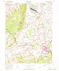 Download a high-resolution, GPS-compatible USGS topo map for Rocky Hill, NJ (1972 edition)