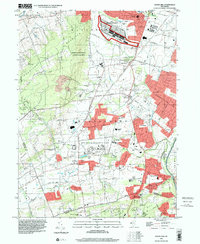 Download a high-resolution, GPS-compatible USGS topo map for Rocky Hill, NJ (2000 edition)