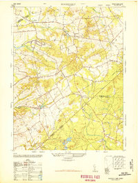 Download a high-resolution, GPS-compatible USGS topo map for Roosevelt, NJ (1948 edition)