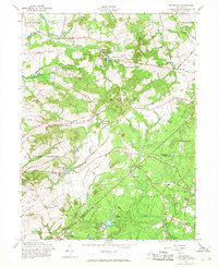 Download a high-resolution, GPS-compatible USGS topo map for Roosevelt, NJ (1968 edition)