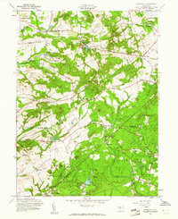 Download a high-resolution, GPS-compatible USGS topo map for Roosevelt, NJ (1961 edition)