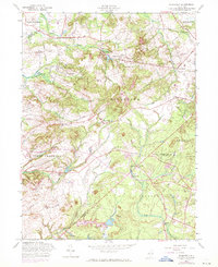 Download a high-resolution, GPS-compatible USGS topo map for Roosevelt, NJ (1971 edition)