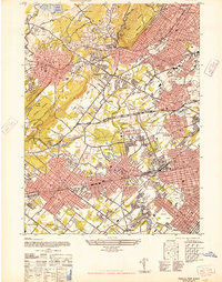 Download a high-resolution, GPS-compatible USGS topo map for Roselle, NJ (1947 edition)