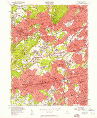 Download a high-resolution, GPS-compatible USGS topo map for Roselle, NJ (1958 edition)