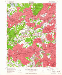 Download a high-resolution, GPS-compatible USGS topo map for Roselle, NJ (1964 edition)