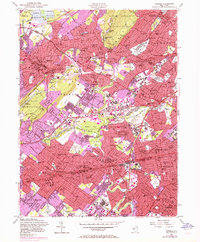 Download a high-resolution, GPS-compatible USGS topo map for Roselle, NJ (1972 edition)